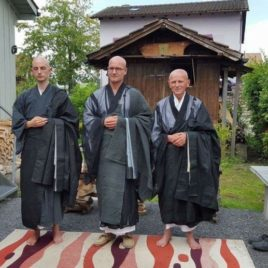 Blessing with Zen Monk Switzerland