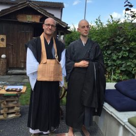 Zen Monk Brother Alain M. Lafon Ordination 2016
