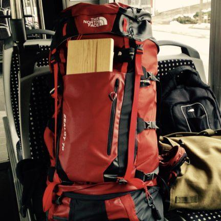 Digital Nomad Alain Lafon Backpack