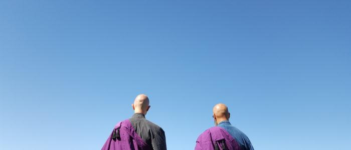 Zen Mönch Marcel Reding & Zen Mönch Alain Lafon