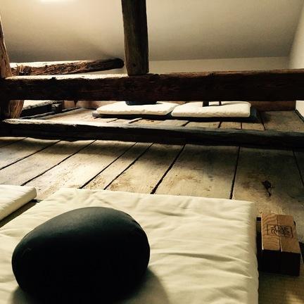 Lambda Zen Temple Meditation Hall
