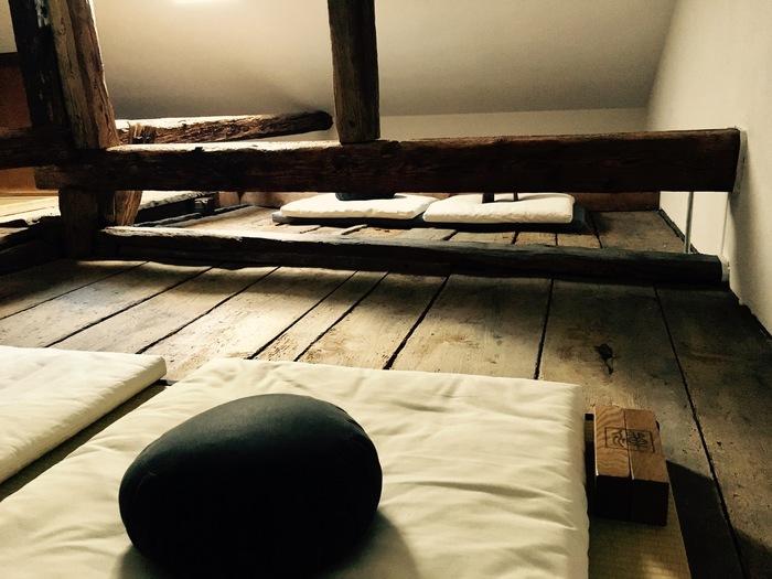 Meditation Hall - Lambda Zen Temple