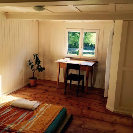 Lambda Zen Temple Guestroom