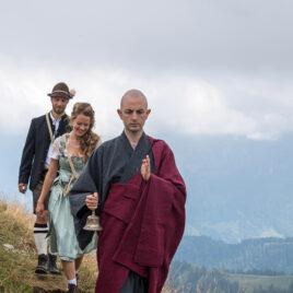 Freie Trauung mit Hochzeitsredner Zen Mönch Bruder A. Lafon