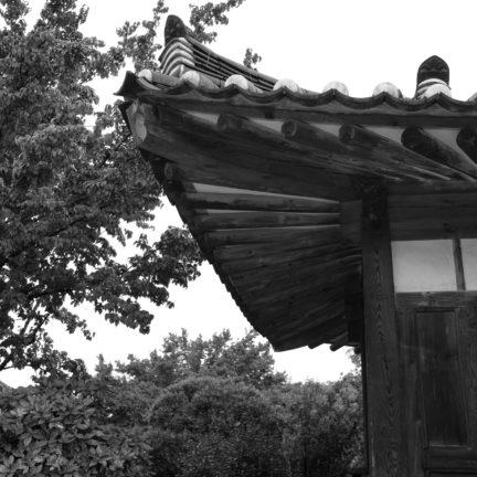 Zen Mönch Abt Reding mit Familie und Zen Mönch Bruder Alain M. Lafon in Korea