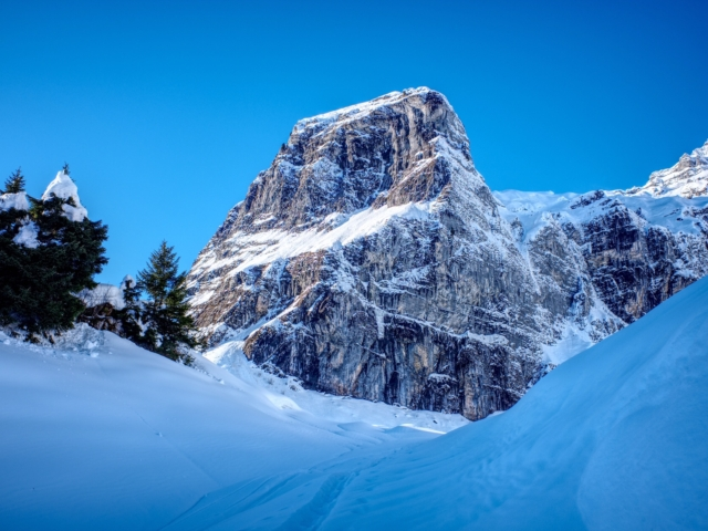 Hiking Meditation in Winter (Oberblegisee)