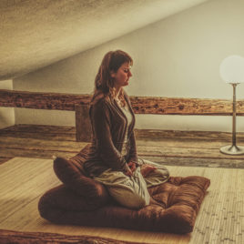 New Year meditation at the zen monastery in switzerland
