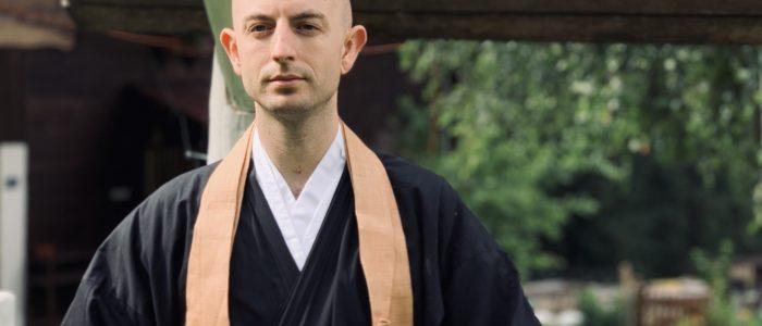 Zen Mönch Bruder A. Lafon