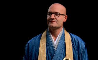 zen temple zen monk abbot reding