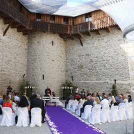 Freie Trauung im Schloss Rapperswil mit Zen Mönch Bruder Alain M. Lafon
