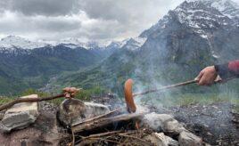 Wandern mit Zen Mönch Bruder Alain M. Lafon in Glarus