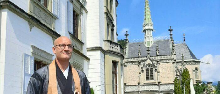 Wedding Speaker Zen Monk Reding Castle Meggenhorn Switzerland