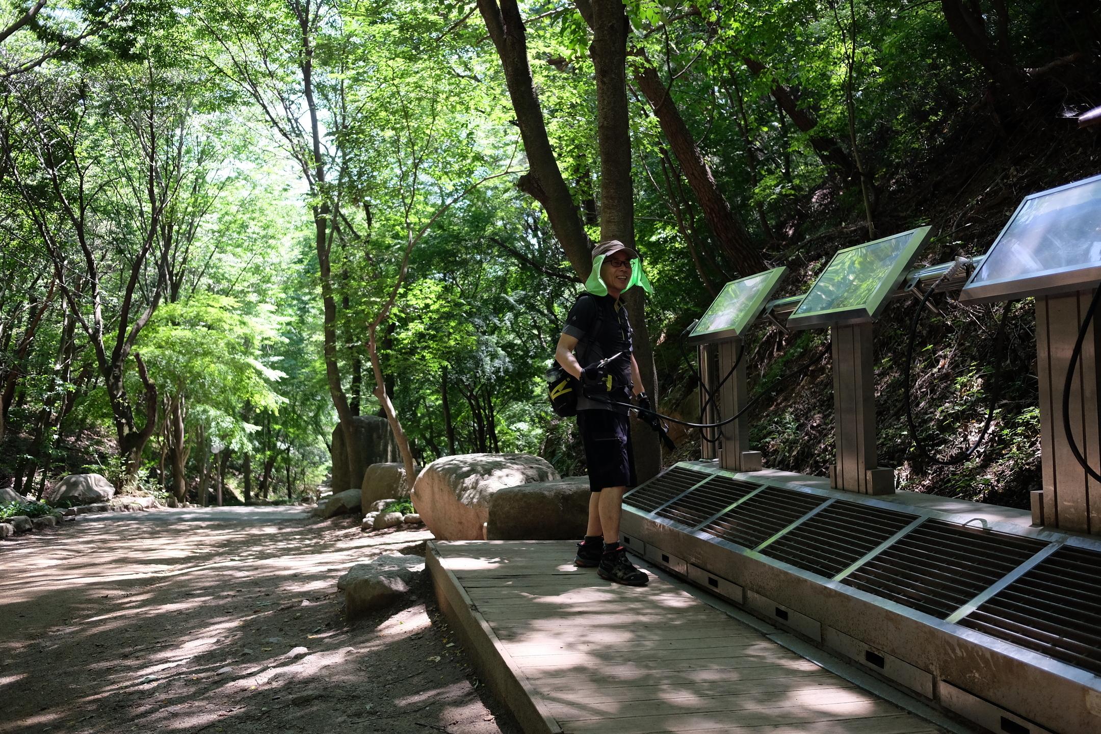 Zen Master Pohwa Sunim, hiking meditation