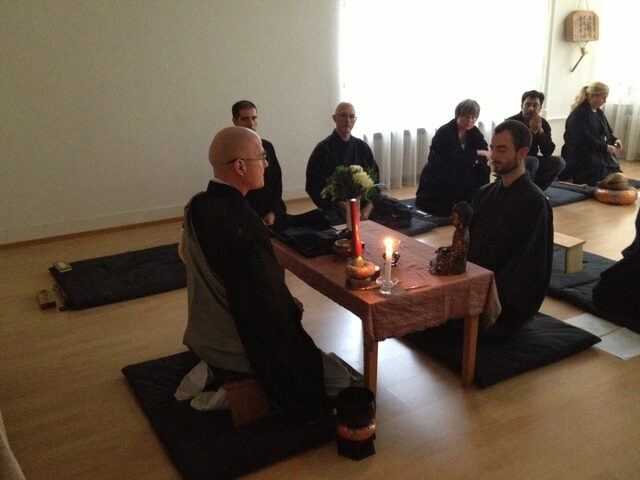 Precepts and Dharma name ceremony