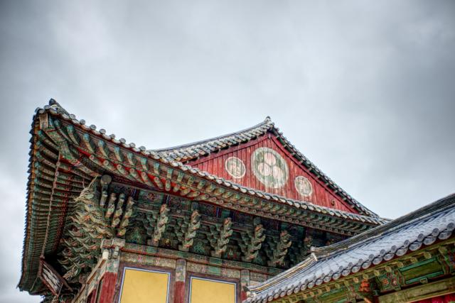 Visiting Bulgoksa Temple