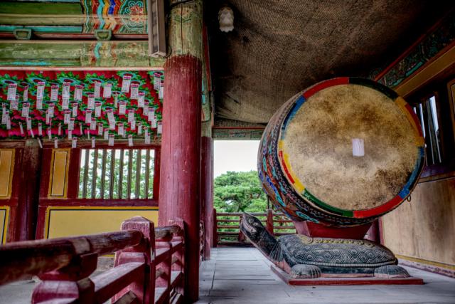 Bulgoksa Temple Drums