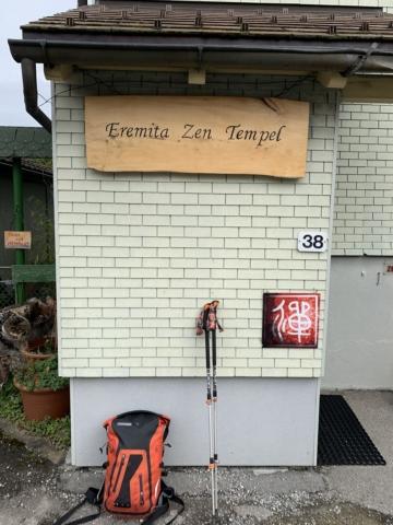 Training at Eremita Zen Temple in Einsiedeln