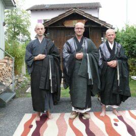 Ordination with Masan Doam Osho and Iko Osho