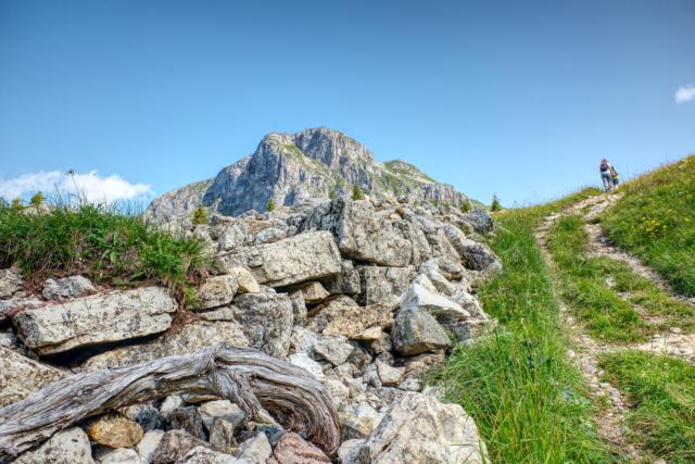 Hiking meditation at Mount Schilt in the Swiss Alps - Lambda Zen Temple