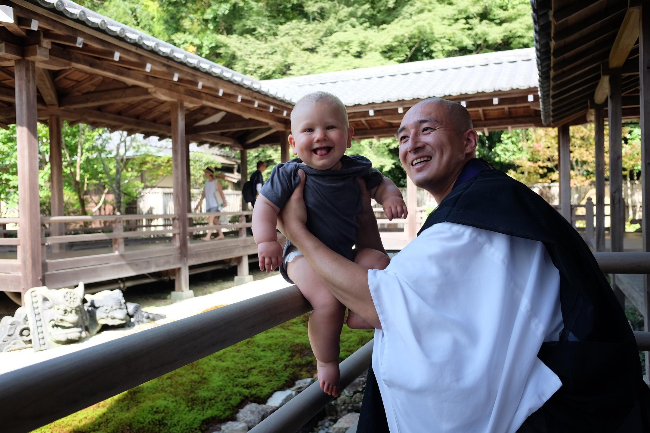 Child duty with Tenju Osho