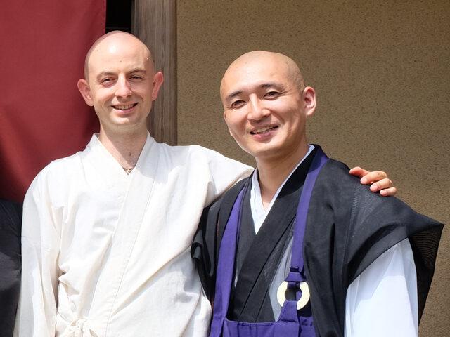 Visiting Dharma Brother Tenju Osho