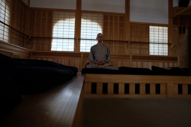 Practicing at Empukuji Monastery